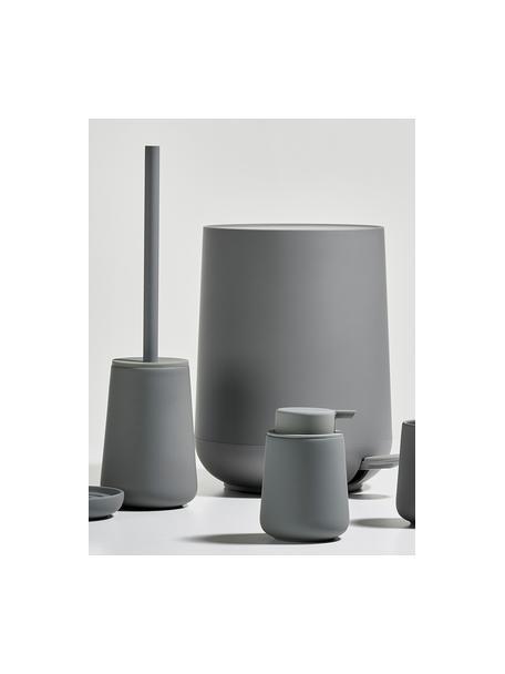 Scopino con contenitore in porcellana Nova One, Contenitore: porcellana, Grigio, Ø 10 x Alt. 43 cm