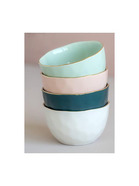 Miseczka Good Morning, Porcelana, Blady różowy, odcienie złotego, Ø 14 cm