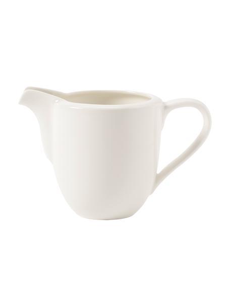 Brocca latte in porcellana bianca For Me, Porcellana, Bianco, Larg. 8 x Alt. 9 cm