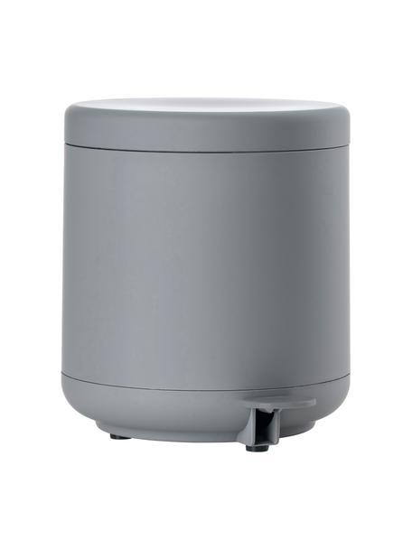 Afvalemmer Ume met pedaal functie, Kunststof (ABS), Mat grijs, Ø 20 x H 22 cm