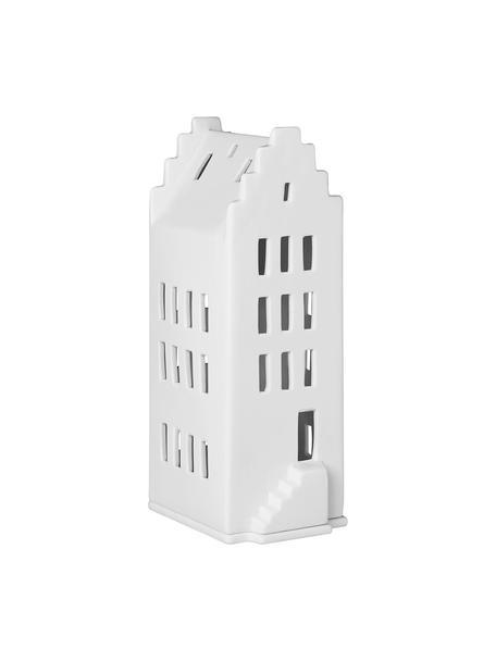 Teelichthalter Building, Porzellan, Weiss, 8 x 20 cm