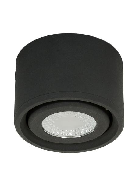 Foco LED Anzio, Lámpara: aluminio recubierto, Antracita, Ø 8 x Al 5 cm