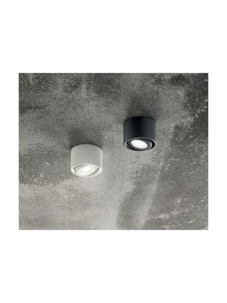 Faretto a soffitto nero Anzio, Antracite, Ø 8 x Alt. 5 cm