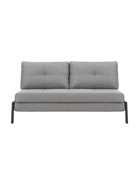 Sofá cama Edward, plegable, Tapizado: 100%poliéster Resistenci, Tejido gris claro, An 152 x F 96 cm