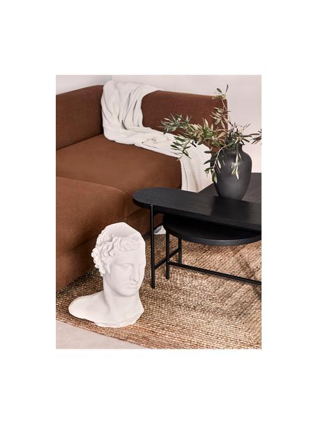 Handgefertigter Jute-Teppich Sharmila, 100% Jute, Beige, B 60 x L 90 cm (Grösse XXS)