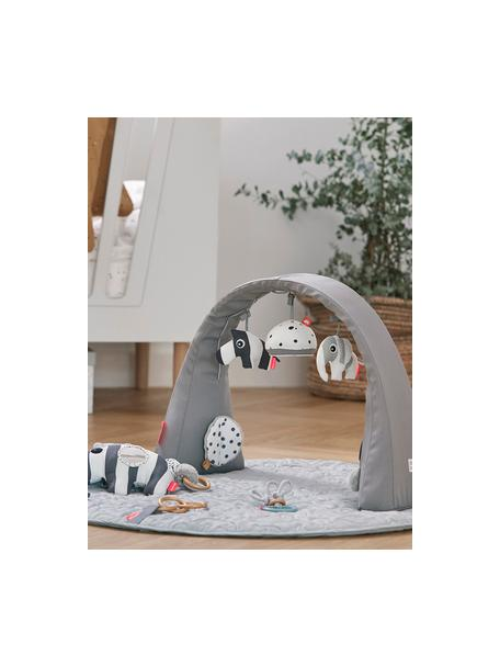 Arco da gioco Animals, Arco: 100% poliestere, Grigio, Larg. 44 x Alt. 38 cm