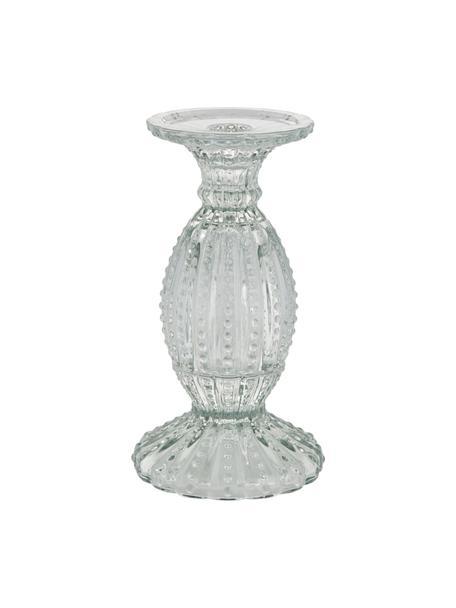 Kerzenhalter Silva, Glas, Transparent, Ø 11 x H 19 cm