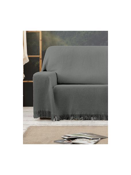Wielofunkcyjna narzuta na sofę Amazonas, 80% bawełna, 20% inne włókna, Szary, S 180 x D 260 cm