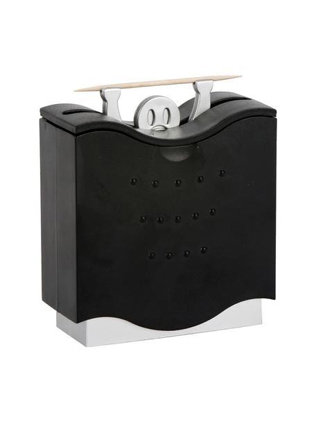 Dispensador de palillos Pick A Boo, Plástico ABS, Negro, gris, An 11 x Al 19 cm