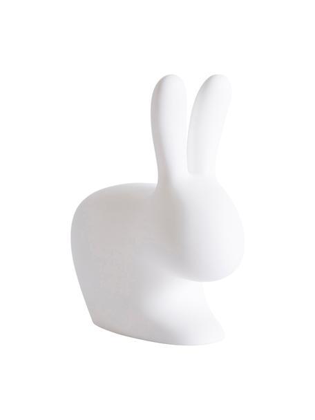 Sgabello per bambini Rabbit, Materiale sintetico (polietilene), Bianco, Larg. 46 x Alt. 53 cm