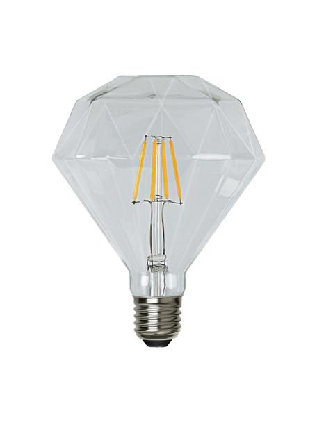E27 Leuchtmittel, 320lm, warmweiß, 1 Stück, Leuchtmittelschirm: Glas, Leuchtmittelfassung: Nickel, Transparent, Ø 12 x H 13 cm