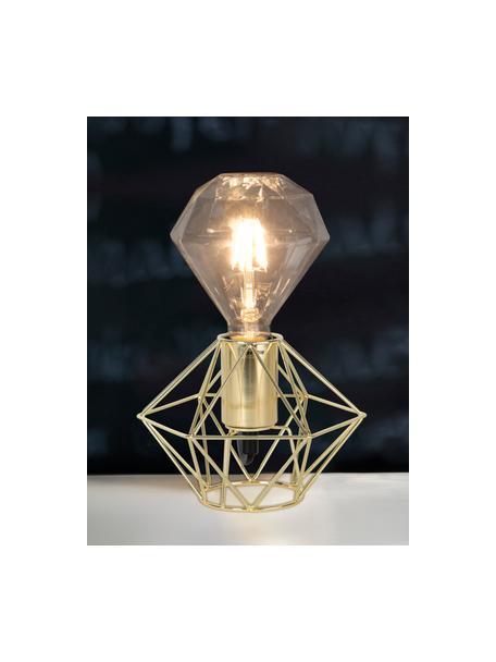 E27 Leuchtmittel, 3W, warmweiss, 1 Stück, Leuchtmittelschirm: Glas, Leuchtmittelfassung: Nickel, Transparent, Ø 12 x H 13 cm