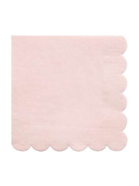 Servilletas de papel Simply Eco, 20uds., Papel, Rosa, An 33 x L 33 cm