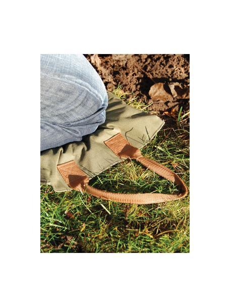 Alfombra rodillas jardín Lerane, Funda: poliéster, Verde, An 18 x Al 38 cm