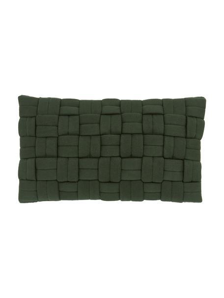 Federa arredo verde scuro Norman, Verde, Larg. 30 x Lung. 50 cm