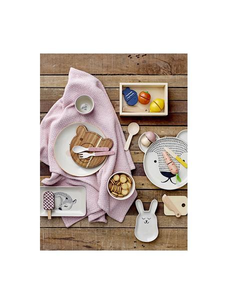 Speelgoedset Cooking, 5-delig, MDF, schima hout, Blauw, Set met verschillende formaten
