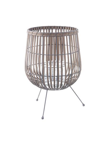 Świecznik Rabat, Noga: metal powlekany, Brązowy, metal, Ø 30 x W 46 cm