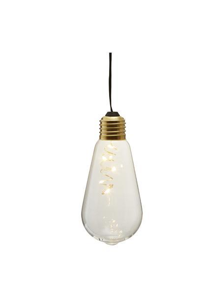LED-Dekoleuchte Glow, 1 Stück, Lampenschirm: Glas, Transparent, Ø 6 x H 13 cm