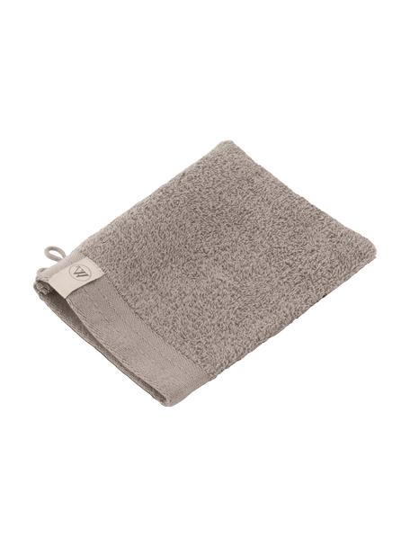 Guantes de baño Soft Cotton, 2uds., Gris pardo, An 16 x L 21 cm