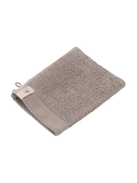 Guanto da bagno Soft Cotton 2 pz, Taupe, Larg. 16 x Lung. 21 cm