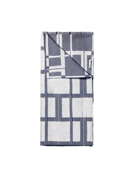 Ręcznik kuchenny Benny, 100% bawełna, Szary, S 50 x D 70 cm