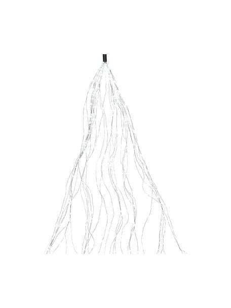 Guirnalda de luces LED Bende, 190cm, blanco frio, Plástico, Plateado, L 190 cm