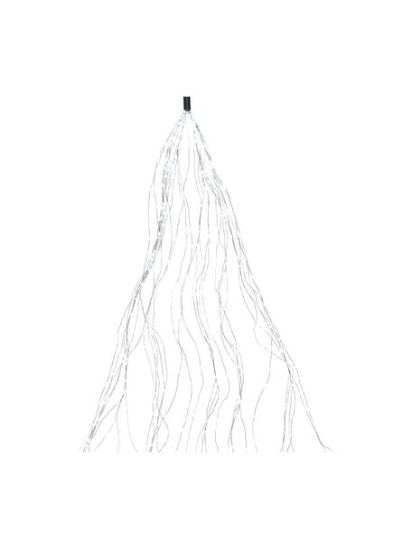 LED-Lichterbüdel Ben L 190 cm, kaltweiss, Kunststoff, Silberfarben, L 190 cm