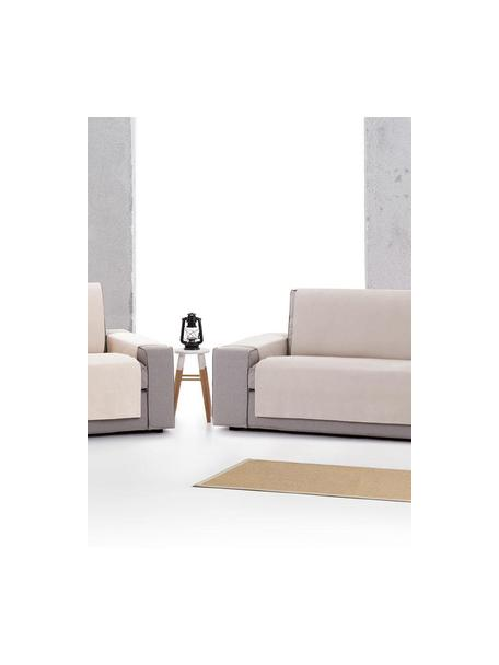 Funda de sofá Levante, 65%algodón, 35%poliéster, Gris verdoso, 2 plazas (115 x 220cm)