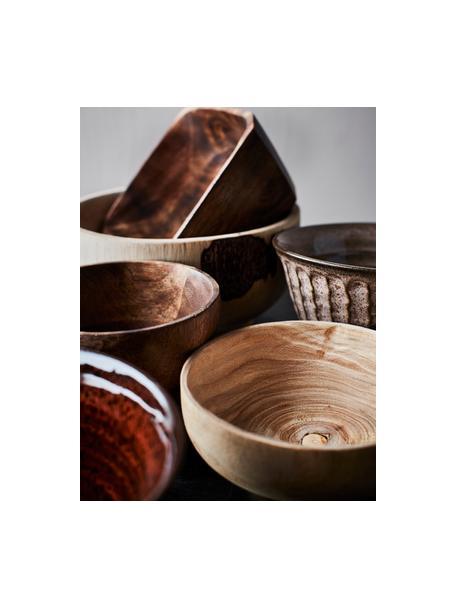 Ciotola in legno di paulownia Sandry, Legno di Paulownia, trattato con olio, Beige, Ø 14 x Alt. 7 cm