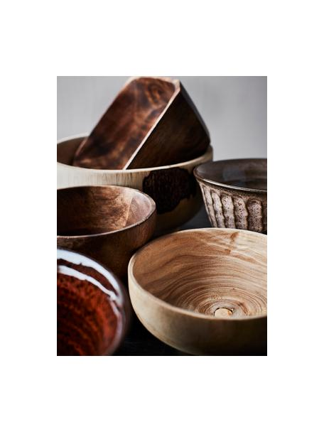 Miseczka z drewna paulownia Sandry Ø 14  cm, Drewno paulownia impregnowane olejem, Beżowy, Ø 14 x W 7 cm