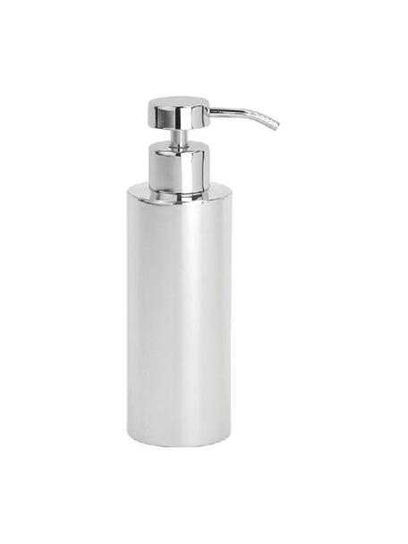 Dozownik do mydła ze stali szlachetnej Stoni, Stal szlachetna, Stal szlachetna, Ø 6 x W 18 cm