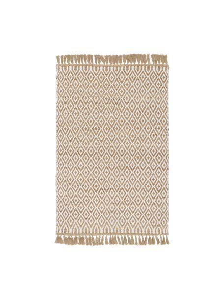 Handgefertigter Jute-Teppich Ramos, 100% Jute, Beige, B 120 x L 180 cm (Größe S)