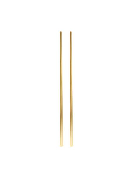 Pałeczki Shine, 2 pary, Stal szlachetna, Złoty, D 23 cm