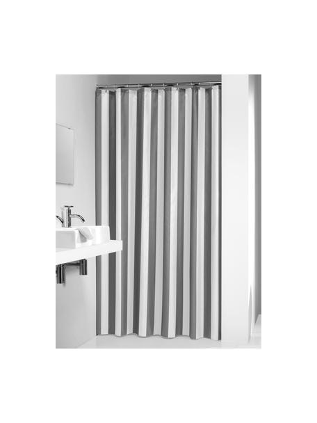 Zasłona prysznicowa Maggie, Szary, biały, S 180 x D 200 cm