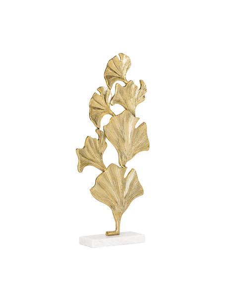 Decoratief object Duke, Voetstuk: marmer, Goudkleurig, 35 x 70 cm