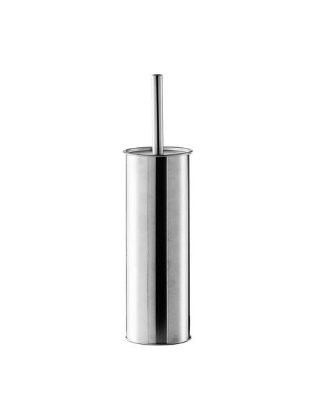 Toiletborstel Classic met houder van edelstaal, Houder: edelstaal, Edelstaalkleurig, Ø 10 x H 38 cm
