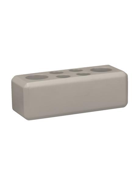 Stojak na szczoteczki z betonu Loft, Beton, Szary, S 16 x W 6 cm