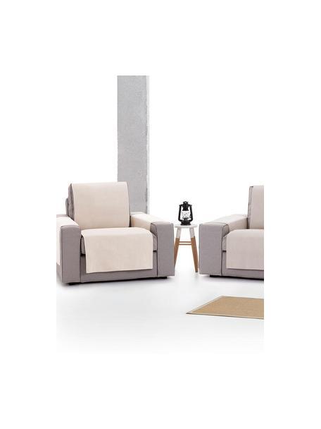 Narzuta na fotel Levante, 65% bawełna, 35% poliester, Beżowy, S 55 x D 220 cm