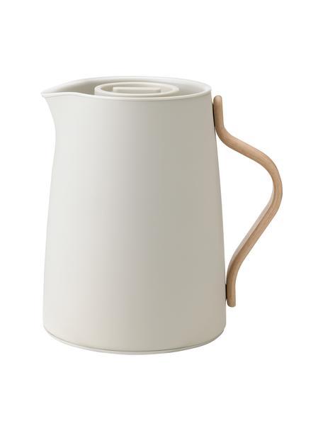 Theemaker Emma in beige/mat, 1 L, Frame: gecoat edelstaal, Beige, 1 L