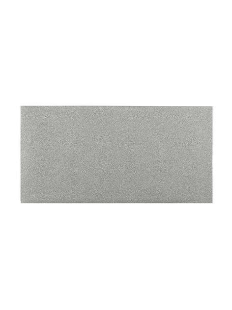 Umschläge Sublime, 3 Stück, Polypropylen, Silberfarben, 23 x 12 cm