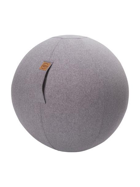 Sitzball Felt mit Tragegriff, Bezug: Polyester (Filzimitat), Hellgrau, Ø 65 cm