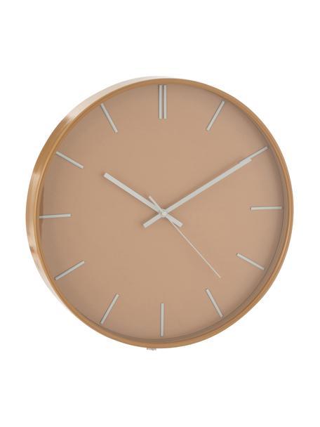 Orologio da parete Alex, Materiale sintetico, Marrone chiaro, Ø 41 cm