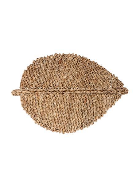 Tovaglietta americana grande in fibra naturale Isla, Fibra naturale, Beige, Larg. 34 x Lung. 50 cm
