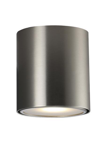 Faretto da soffitto argentato Ipsa, Struttura: metallo, Argento, Ø 10 x Alt. 10 cm