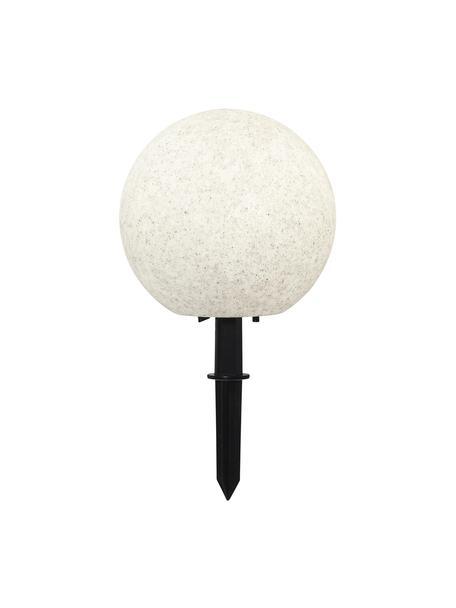 Lámpara de suelo Gardenlight, con enchufe, Pantalla: plástico, Cable: plástico, Blanco, negro, Ø 29 x Al 30 cm