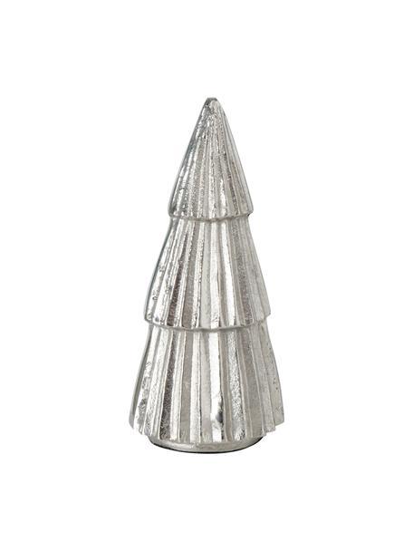 Deko-Baum Kaytlo H 19 cm, Aluminium, Silberfarben, Ø 9 x H 19
