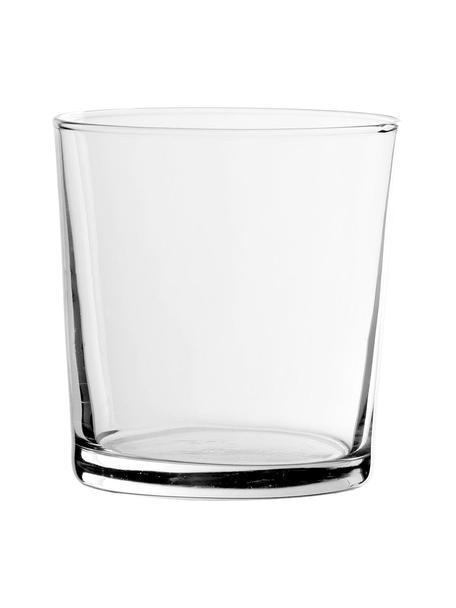 Vasos clásicos Simple, 6uds., Vidrio, Transparente, Ø 9 x Al 9 cm