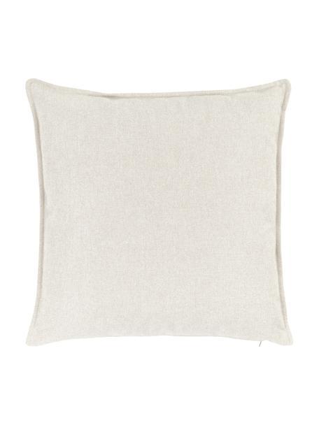 Poduszka Lennon, Tapicerka: 100% poliester, Beżowy, S 60 x D 60 cm