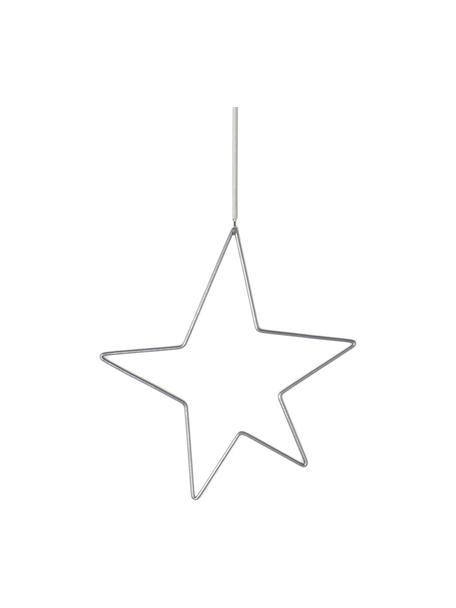 Stella decorativa in metallo Kelia, Metallo, Larg. 21 x Alt. 23 cm