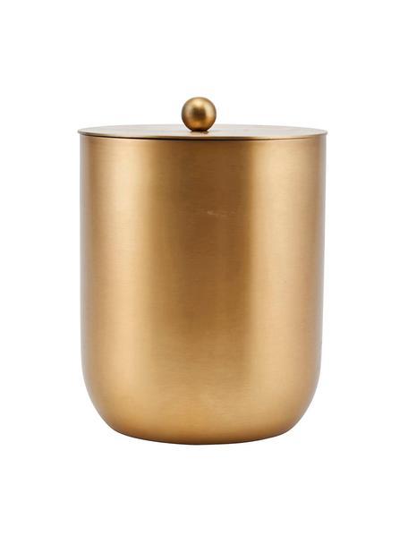 Kleine ijsemmer Alir in goudkleur, Edelstaal, messing, Messingkleurig, Ø 12 x H 15 cm